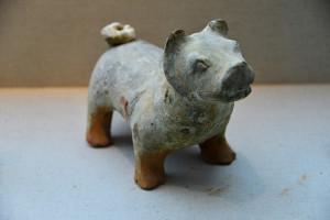 39912893 - glazed pottery dog